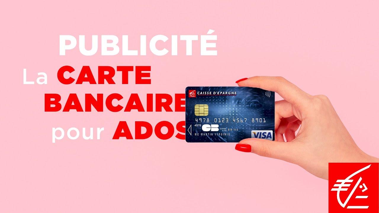 carte bancaire pour ado Publicité   La carte bancaire pour ados   YouTube
