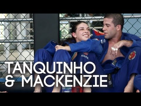 Tanquinho & Mackenzie Dern: BJJ black belt couple