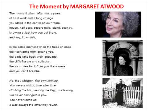 The Moment read by Margaret Atwood