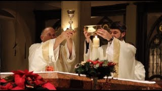 Catholic Midnight Mass - Christmas Eve Mass - St. Stanislaus Catholic Church