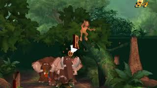 Tarzan Action Game Nederlands Walkthrough - Level 4 (Wilde Vlucht)