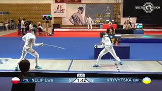 Novi Sad European Championships 2018 Day06 WE POL vs UKR
