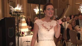 Bride's (Brittany Killion) dedication song to her Mom (Eileen Killion)
