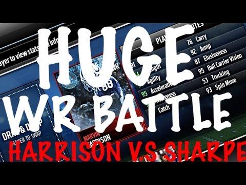 FROZEN HERO MARVIN HARRISON V.S ELITE ULTIMATE FREEZE SHARPE-MM17