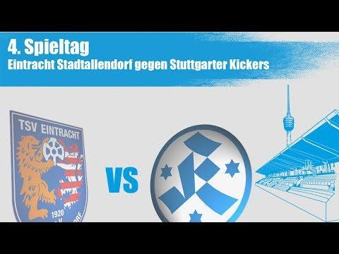 4.Spieltag, Eintracht Stadtallendorf vs Stuttgarter Kickers - Spielbericht + Interviews