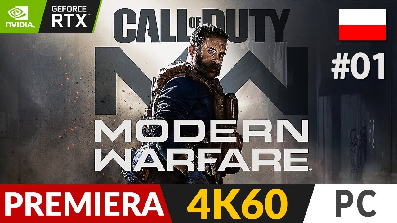 Call of Duty: Modern Warfare PL – 2019 🧨 #1 (odc.1) ⏳ Kampania | COD:MW Gameplay po polsku RTX On