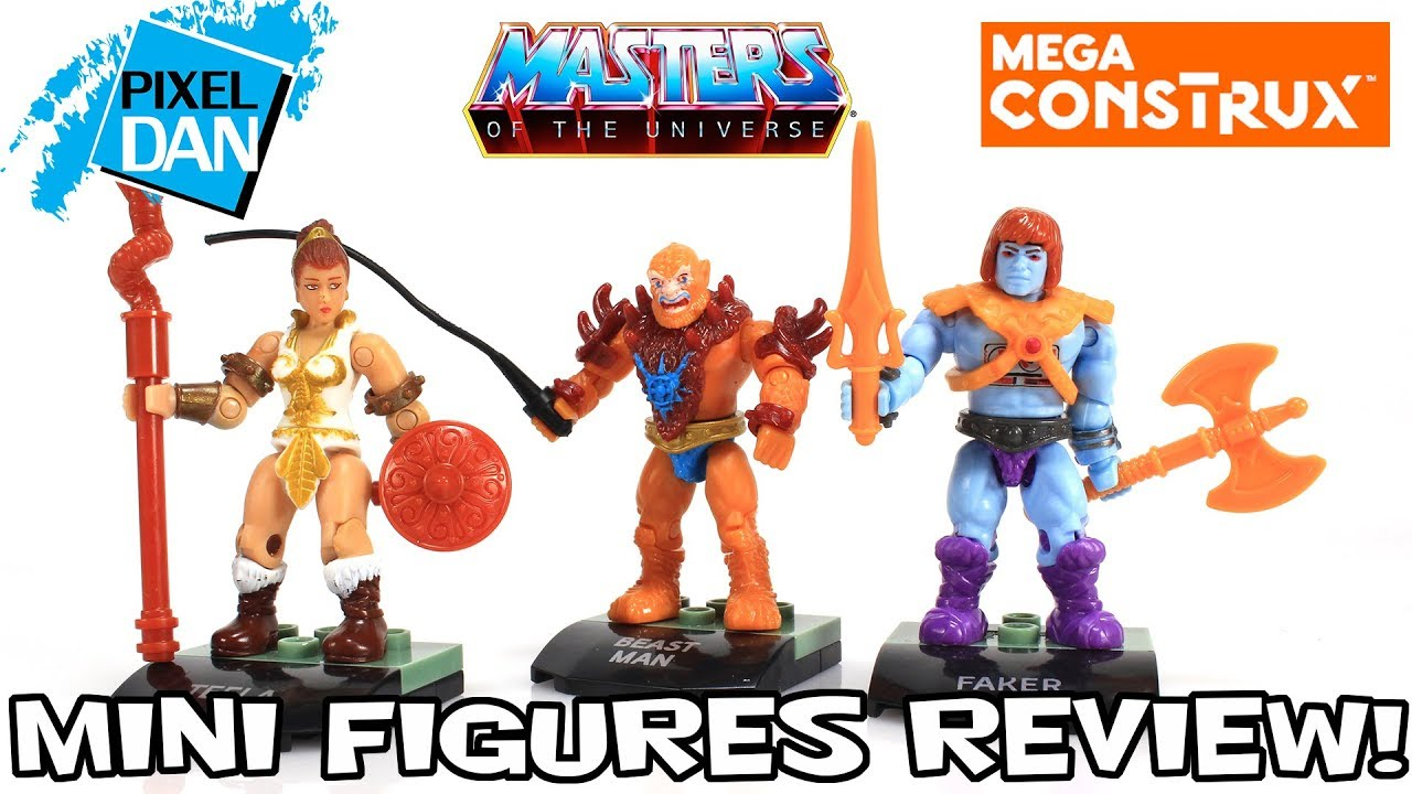 New Mega Construx Heroes Teela Masters of the Universe MOTU He-Man Mini Figure