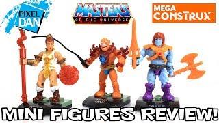 Mega Construx Faker Teela & Beastman MOTU Mini Figures Video Review