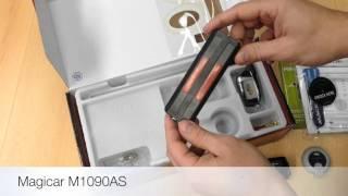 Magicar M1090AS - autoalarm s bezklíčovým přístupem a dálkovým startem