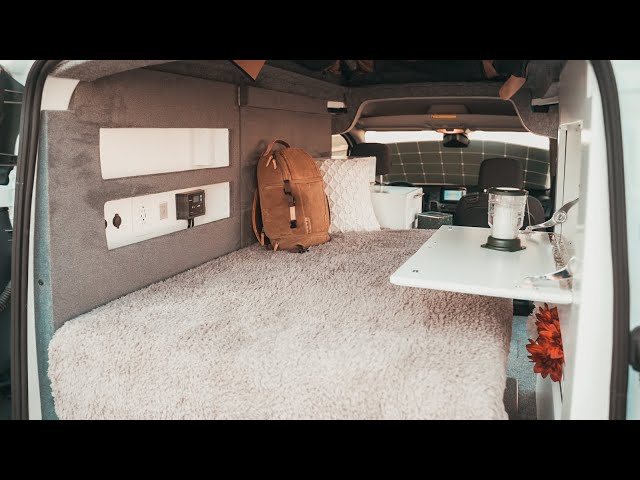 Custom Travel Camping Van | Apex Customs
