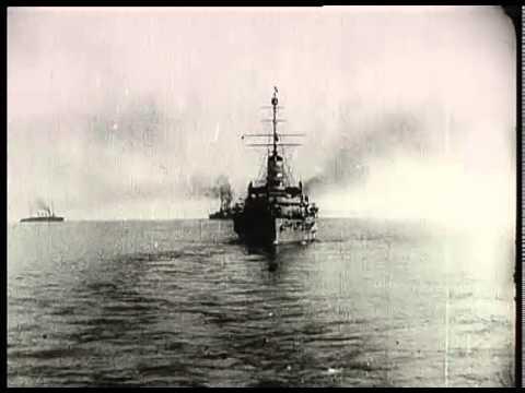 A Szent István csatahajó ünnepélyes vízre bocsátása és katasztrófája