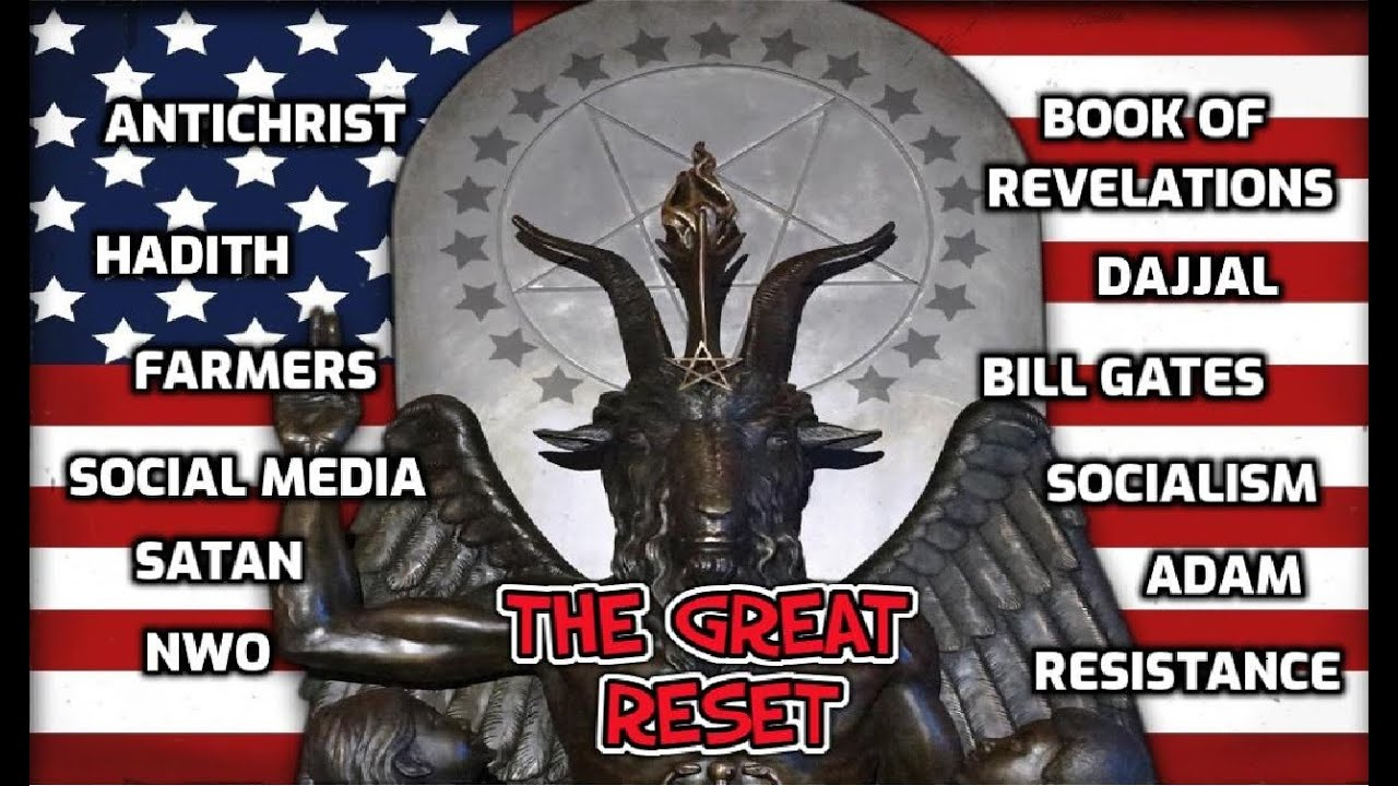 The Great Satanic Reset - The Satanic Takeover - 2021!! - Part 1 PRAECURSATOR 3MAR21