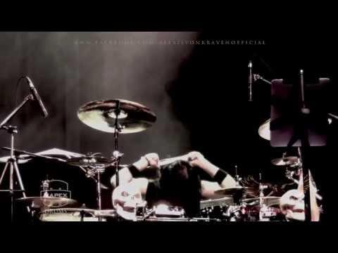 "HEAVENS FIRE drummer, Alexis Von Kraven Drum Solo. HEAVENS FIRE ""Judgement Day"" Tour 2013"
