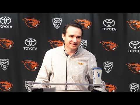 Oregon State Beavers - Jonathan Smith talks Beavers and Letter of Intent Day!!