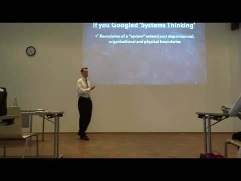 "Mike Edwards - ""WHY SERVICE ORGANIZATIONS NEED A SYSTEM THINKING APPROACH"" - Part 1"