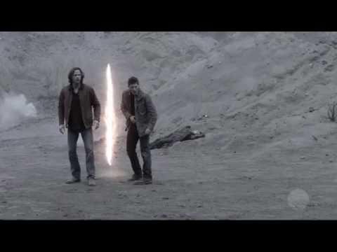 Supernatural   Final Trágico Castiel e Crowley Morre 12° Temporada