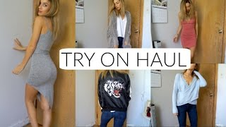 TRY ON Fall Clothing Haul 2016
