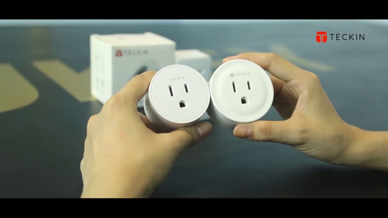 How to connect TECKIN Smart Plug with Smart Life APP (compatible with  Alexa, Google Assistant)