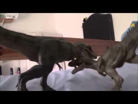 Allosaurus vs Tarbosaurus (Tyrannosaurus Bataar)