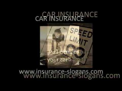 Car Insurance Slogans and Auto Taglines - YouTube