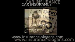 Car Insurance Slogans and Auto Taglines