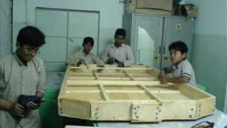 First Pakistani Hovercraft made by PSC students,