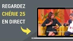 Comment regarder Chérie 25 en direct sur internet ?