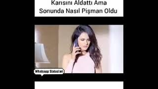 Xeyanet Video Whatsapp status ucun Sevgi qemli hezin menali huzun duygusal anlamli aglamali ayriliq
