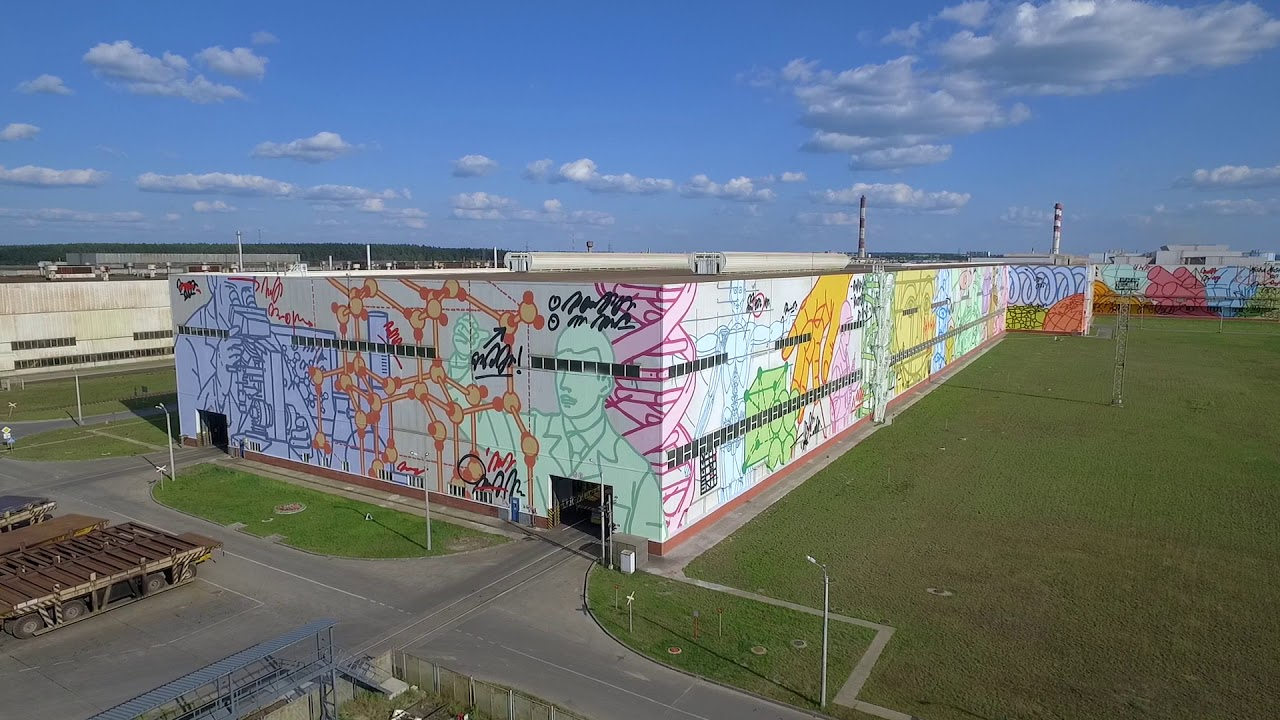 EVOLUTION 2 world largest wall mural of one artist — MISHA MOST
