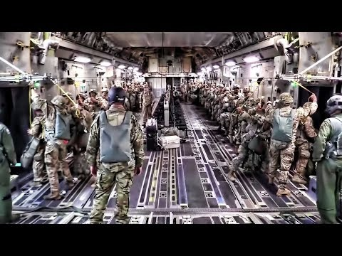 82nd Airborne Night Drop • Operation Panther Storm 2017