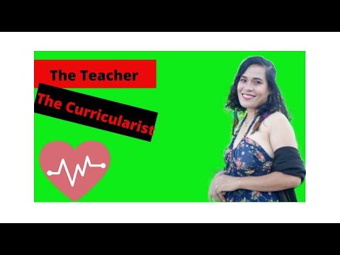 The Teacher And The Curricularist