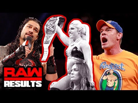 CENA RIPS ROMAN: PROMO OF THE YEAR? WWE Raw Review & Results (Going in Raw Podcast Ep. 280)