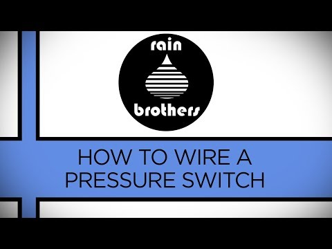 How to wire a pressure switch - YouTube Well Pressure Switch Wiring Diagram For Color on