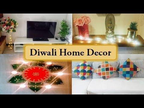 Diwali Decoration Ideas   How to decorate home for diwali   Easy DIY Decor Ideas for Diwali