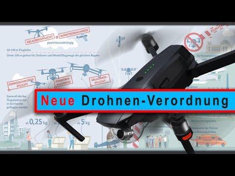Neue Drohnen-Verordnung: Gesetz und Vorschriften