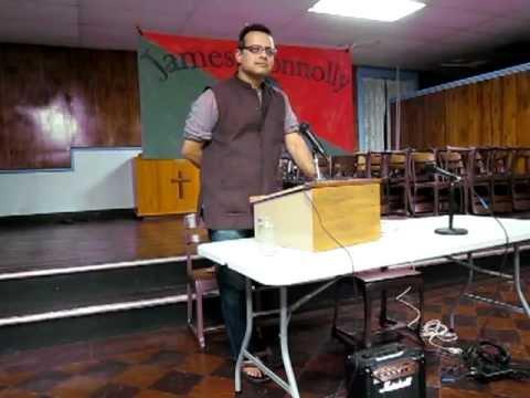Vijay Prashad at the James Connolly Forum on September 14, 2012