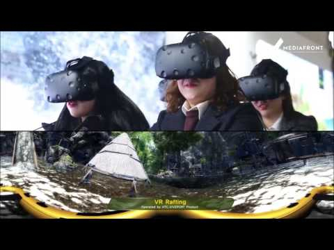 VR Jungle Rafting (VR Jungle Adventure by MEDIAFRONT)