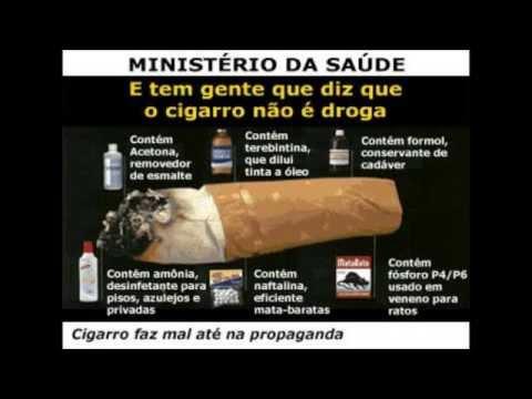 Quais as substancias presentes no cigarro