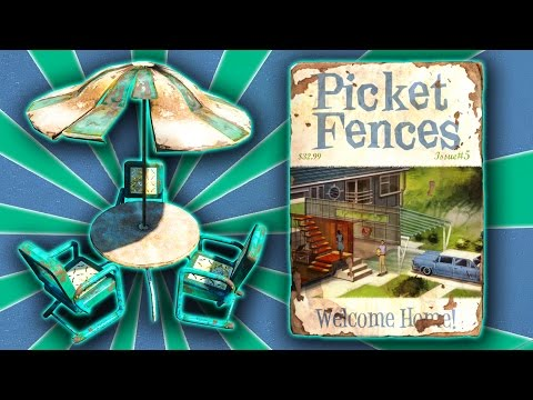 Fallout 4 - Picket Fences Welcome Home ( Patio Furniture ) Guide