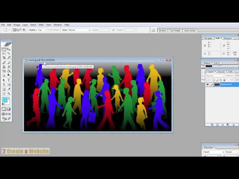 Edit & Style an Image in Photoshop for Your Site