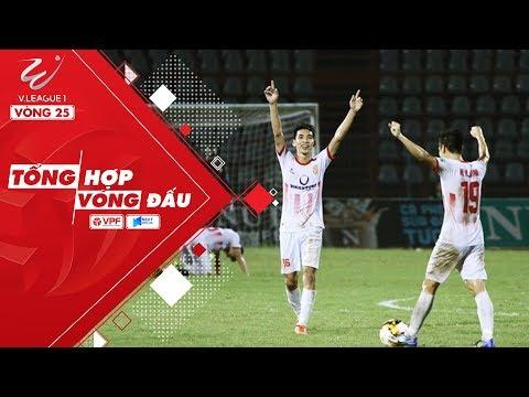 Tổng hợp V.League 2018 vòng 26 - Nam Định tiễn XSKT Cần Thơ xuống hạng | VPF Media