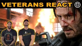 Veterans React to ACTION Movies: EP06