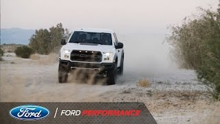 the most capable pickup truck factory shock absorbers   f 150 raptor   ford performance