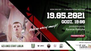 2. Liga Koszykówki Mężczyzn: UNB AZS UMCS Start Lublin – Rycerze Rydzyna