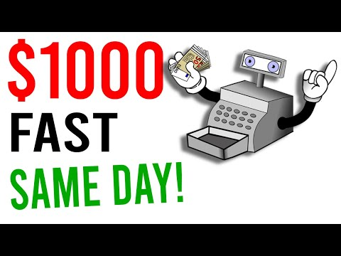 Earn $1000 Per Day Fast Now! [Easy Way to Make Money Online]