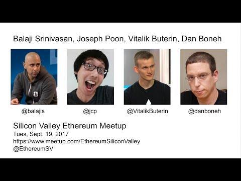 SV Ethereum Live Stream: Vitalik Buterin, Balaji Srinivasan, Joseph Poon, and Dan Boneh