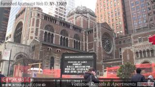 Midtown East - Video tour of a furnished apartment on East 51st Street