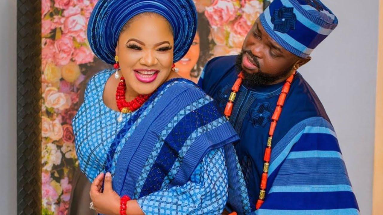 Download KOLAWOLE AJEYEMI SURPRISE TOYIN ABRAHAM AS SHE CELEBRATE HER 40TH BIRTHDAY