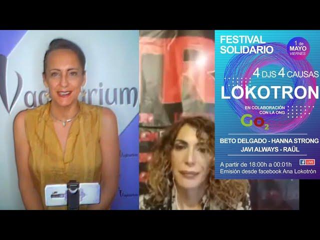 Festival solidario. 4 DJ 4 causas. Ana Lokotron y Generacion O2