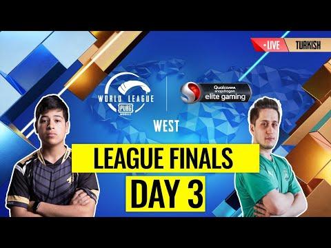 [TR] PMWL WEST -  Lig Finalleri 3. Gün | PUBG MOBILE Dünya Ligi Season Zero (2020)